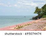 krabi   thailand   march 11...   Shutterstock . vector #695074474