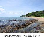 krabi   thailand   march 11...   Shutterstock . vector #695074510