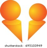 simple and beautiful logo for... | Shutterstock .eps vector #695103949