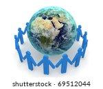 social network concept | Shutterstock . vector #69512044