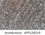 art of wat rong khun or white... | Shutterstock . vector #695128219
