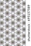 art of illustration pattern in... | Shutterstock . vector #695157589