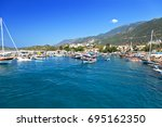 kas  antalya  turkey | Shutterstock . vector #695162350
