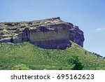 Towering Sanstone Cliff