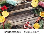 Christmas Tree Branch With...