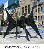 montreal quebec canada 06 12 17 ... | Shutterstock . vector #695184778