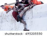 hampshire  uk   september 26 ... | Shutterstock . vector #695205550