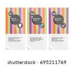 corporate design of vector... | Shutterstock .eps vector #695211769