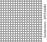 seamless geometric pattern from ... | Shutterstock .eps vector #695216083