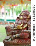 ganesha | Shutterstock . vector #695255380
