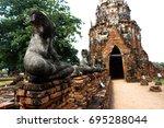 ayutthaya | Shutterstock . vector #695288044