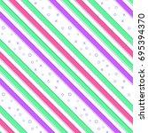 flat line stripe pattern vector    Shutterstock .eps vector #695394370