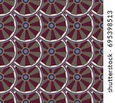 seamless texture with colored...