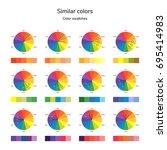 vector illustration of color... | Shutterstock .eps vector #695414983