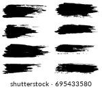vector collection of artistic... | Shutterstock .eps vector #695433580