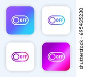 switch off bright purple and...