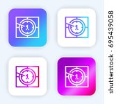 countdown bright purple and...