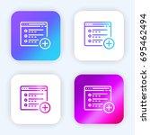 web site bright purple and blue ...