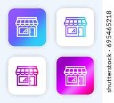 shop bright purple and blue...