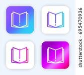 open book bright purple and...