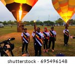 putrajaya  malaysia   august 11 ... | Shutterstock . vector #695496148