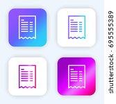 invoice bright purple and blue...