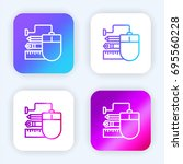 graphic tool bright purple and...