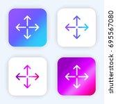 move bright purple and blue...