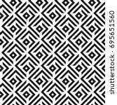 seamless abstract lattice... | Shutterstock .eps vector #695651560