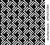 seamless abstract lattice... | Shutterstock .eps vector #695651584