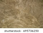 concrete walls plastered with a ... | Shutterstock . vector #695736250
