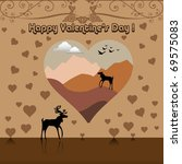 abstract valentine's day... | Shutterstock .eps vector #69575083
