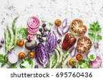 Organic Fresh Vegetables...