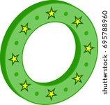 stars in circle vector...   Shutterstock .eps vector #695788960