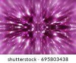glitter pink abstract... | Shutterstock . vector #695803438