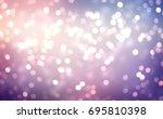 winter glitter holiday purple... | Shutterstock . vector #695810398