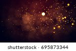 christmas red background | Shutterstock . vector #695873344