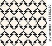 vector geometric seamless... | Shutterstock .eps vector #695883190