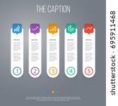 outline diagram set of...   Shutterstock .eps vector #695911468
