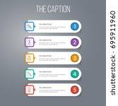 outline healthy set of...   Shutterstock .eps vector #695911960