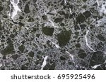 antique noir   black marble... | Shutterstock . vector #695925496