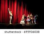 odessa  ukraine    june 06 ... | Shutterstock . vector #695936038