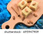 Halava  Indian Sweetmeats Cut...