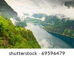 norwegian fjord   Shutterstock . vector #69596479