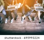 back to school education... | Shutterstock . vector #695993224