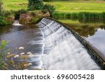 River Aln Weir And Fish Pass  ...