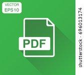 pdf icon. business concept pdf...
