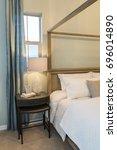 designer bedroom | Shutterstock . vector #696014890