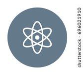 atom icon | Shutterstock .eps vector #696021910
