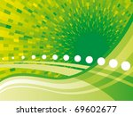 doted vector background | Shutterstock .eps vector #69602677